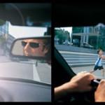 Uso de las gafas de sol para evitar accidentes